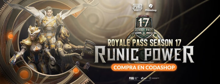 PUBG Runic Power on Codashop Mexico