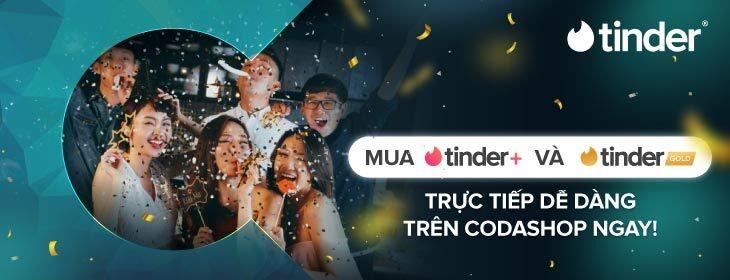 Tinder Direct Top up on Codashop Vietnam