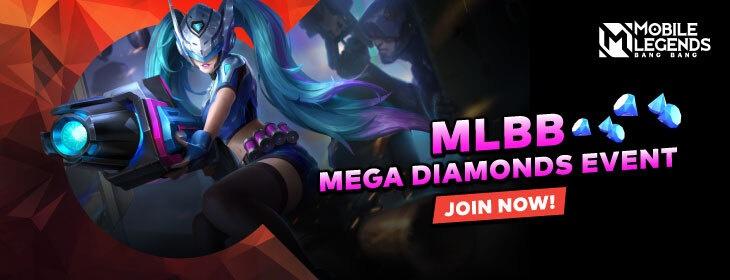 MLBB Mega Diamond Event on Codashop Mongolia