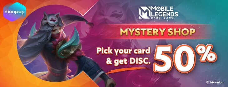 MLBB Mystery Shop on Codashop Mongolia