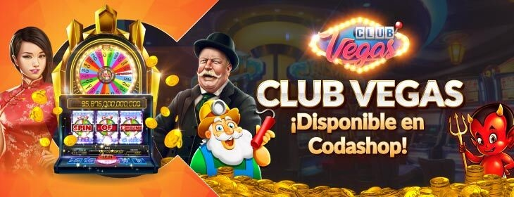 Club Vegas Product Launch on Codashop Mexico