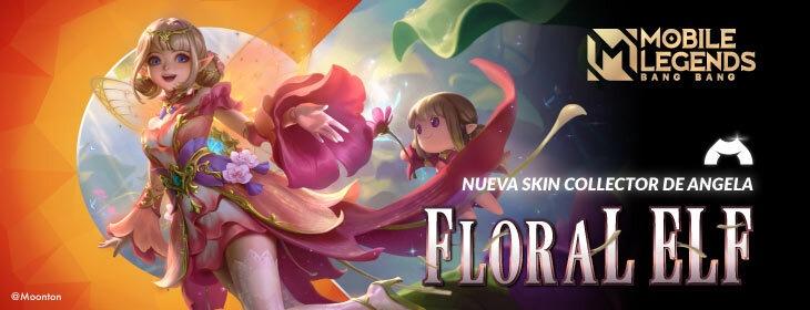 MLBB Angela Floral Elf on Codashop Mexico