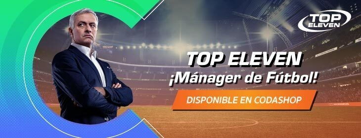 Top Eleven Product Launch on Codashop Mexico