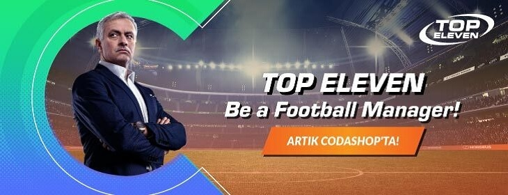 Top Eleven Product Launch on Codashop Turkey