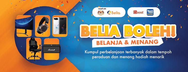 Codashop eBelia Campaign on Codashop Malaysia