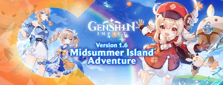 Genshin Impact Midsummer Island Adventure on Codashop Malaysia