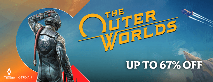 The Outer Worlds Promo on Codashop Malaysia