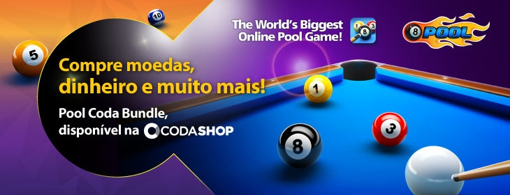 8-Ball Pool Launch on Codashop Brazil