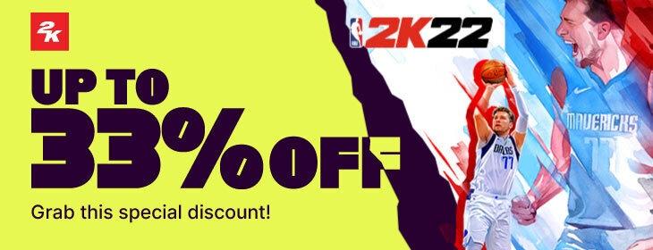 NBA 2K22 Promo on Codashop Philippines