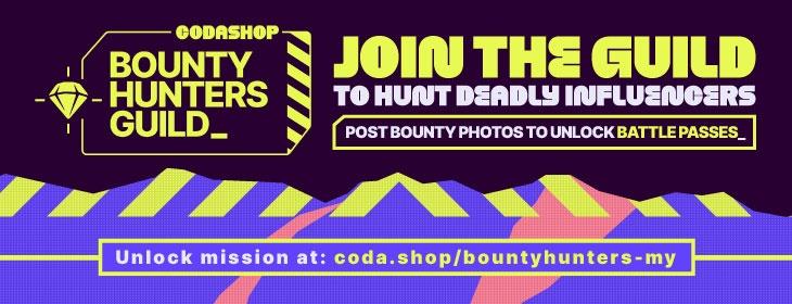Codasho Bounty Hunter's Guild on Codashop Malaysia