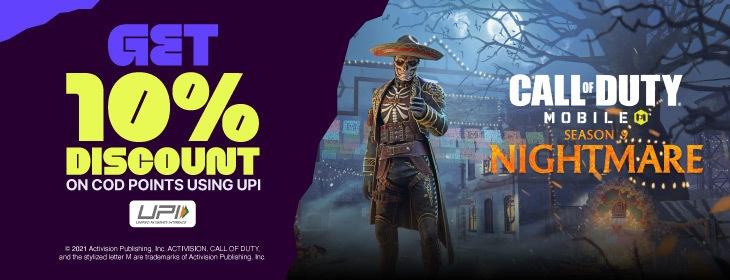 Call of Duty Mobile Season 9 on Codashop India
