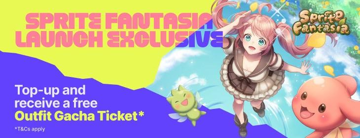 Sprite Fantasia Launch on Codashop Malaysia